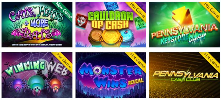 PA Lottery Bonus Code for Casino Games